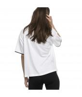Camiseta de algodón de mujer Chase