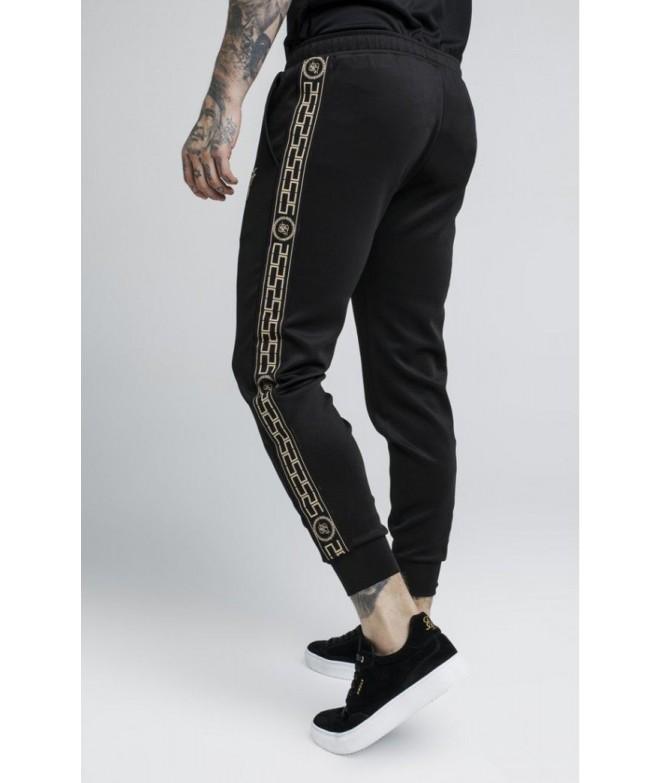 ᐈ Pantalones de chándal SikSilk Cartel – Black Atmosfera© 655bac3e887aa