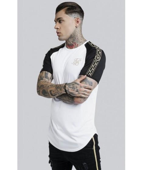 Camiseta SikSilk Performance - Blanca