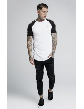 Camiseta SikSilk Performance - Blanca