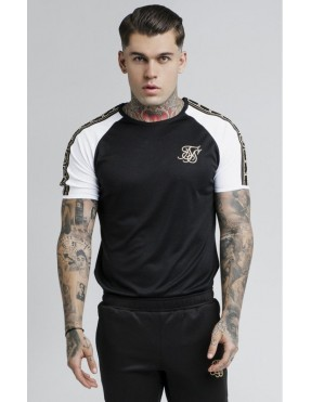 Camiseta SikSilk Performance - Negra