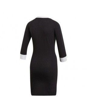 Vestido adidas 3 bandas para Mujer - Negro