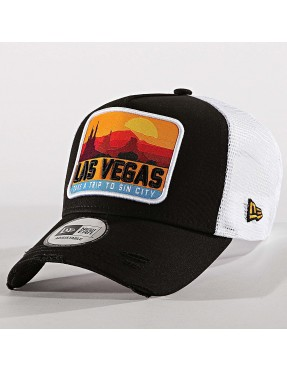 Gorra New Era Distressed Vegas 940 af Trucker