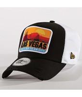 Gorra New Era Distressed Vegas 940 af Trucker