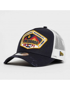Gorra New Era Distressed Colorado 940 af Trucker